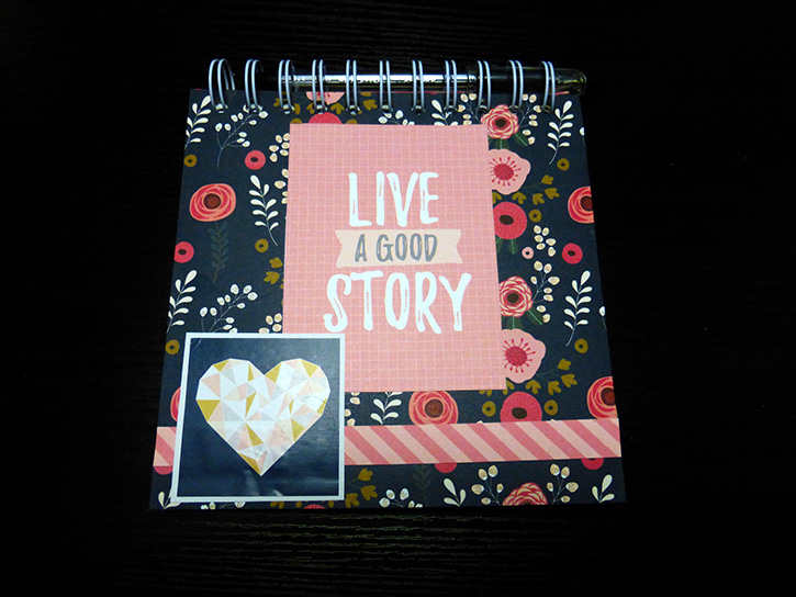 Glue-Dots-Websters-Pages-DIY-Notebook-finished