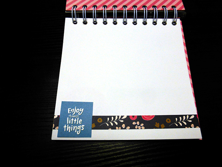Glue-Dots-Websters-Pages-DIY-Notebook-page