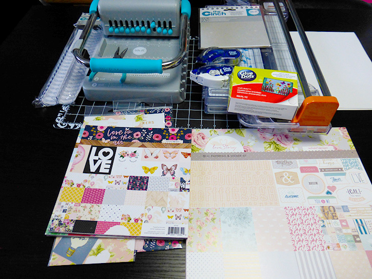 Glue-Dots-Websters-Pages-DIY-Notebook-supplies