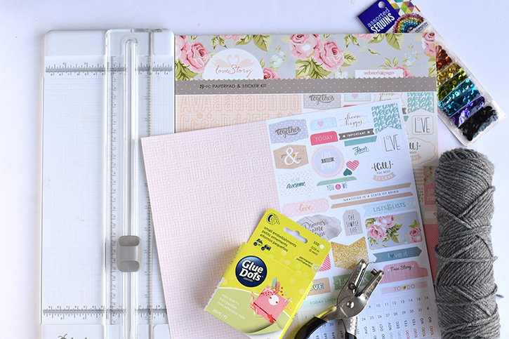 Glue-Dots-Websters-Pages-Sequin-Bookmark-supplies