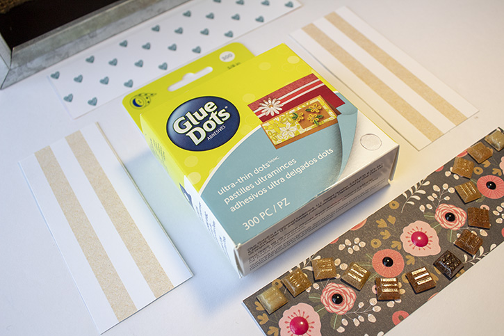 Glue-Dots-Websters-Pages-Shadow-Box-paper