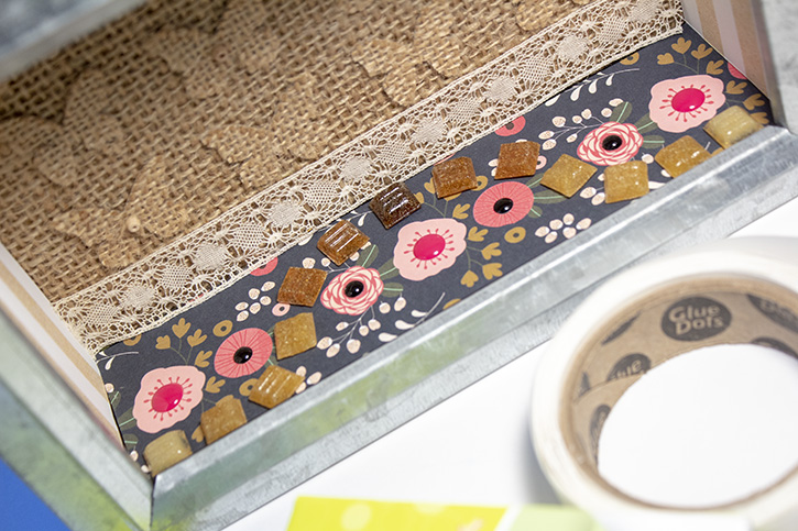 Glue-Dots-Websters-Pages-Shadow-Box-ribbon