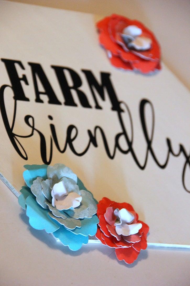 Glue-Dots-Craft-Cuts-Chicken-flowers-attach