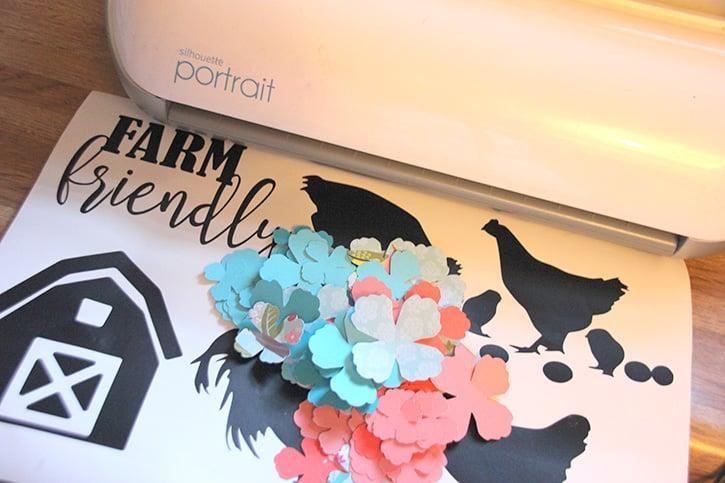 Glue-Dots-Craft-Cuts-Chicken-flowers