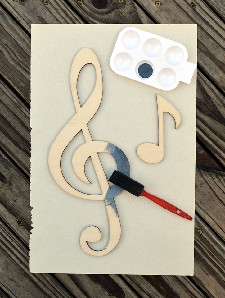 glue-dots-craft-cuts-musical-home-decor-paint