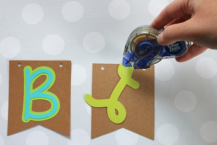 Glue-Dots-Bloom-Banner-letters