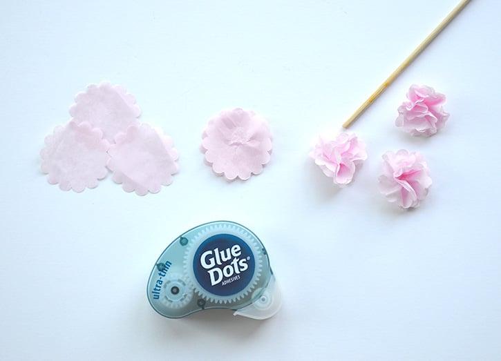 Glue-Dots-Cherry-Blossom-Branches-ultra-thin