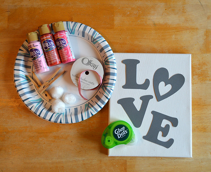 Glue-Dots-LOVE-canvas-supplies