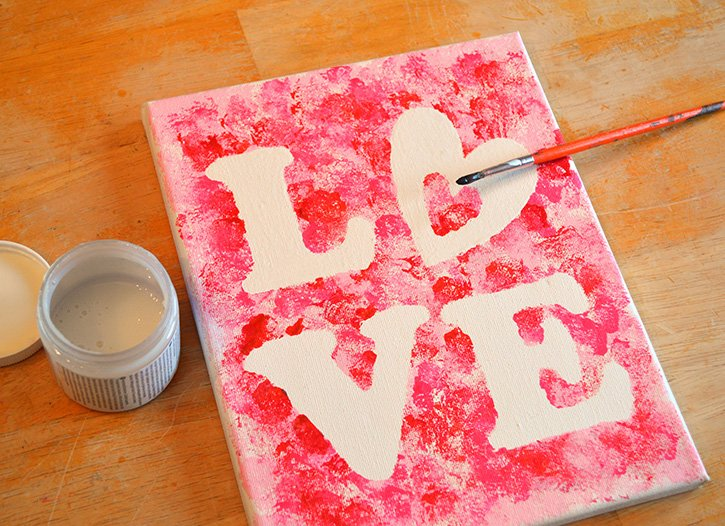 Glue-Dots-LOVE-canvas-touchup