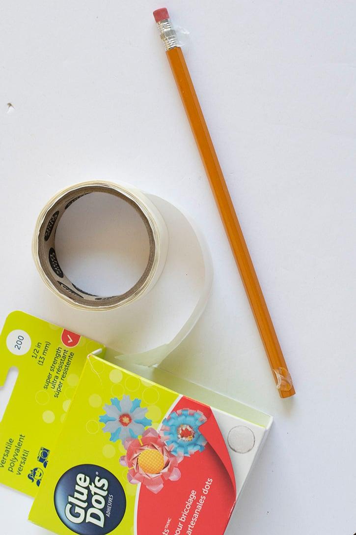 Glue-Dots-Pencil-Arrow-craft