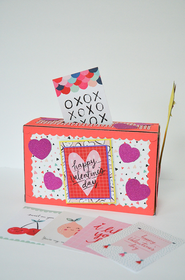 Glue-Dots-valentines-treat-box-finished