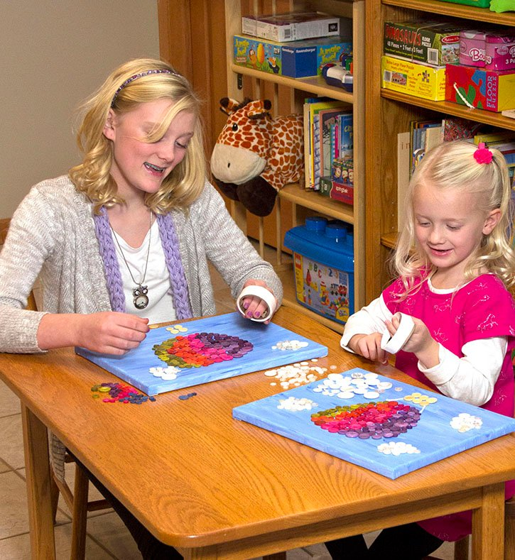 Glue Dots Adhesive Rolls are easy to use no matter age or ability.