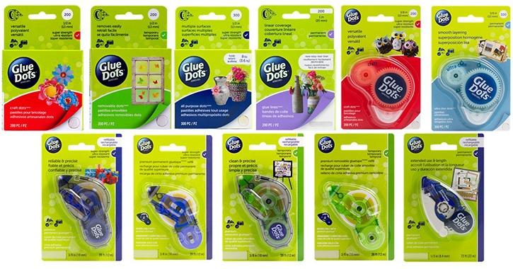 Glue Dots Available at Walmart