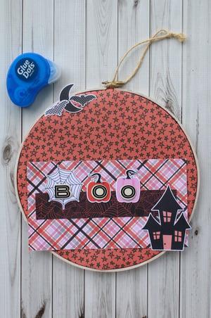 Halloween Embroidery Hoop Decor-007