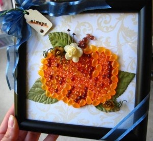 Dew Drop Pumpkin Frame
