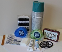 Making a first aid kit for your child's backpack or locker is easy with a few supplies and Glue Dots. Creative Maker Danielle shows you how to make one.