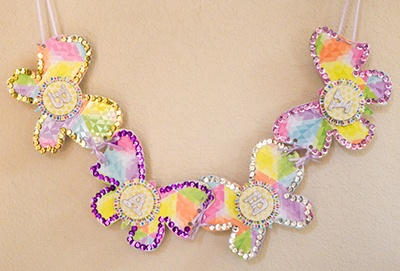 Baby Butterfly Banner