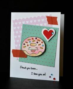 Glue Dots Donut Valentine
