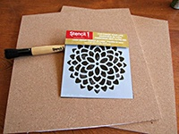 Re-organize and re-decorate with cork board and Glue Dots