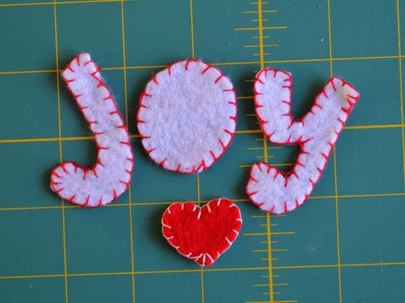 Glue Dots JOY Holiday Decor