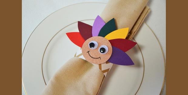 Thanksgiving Kids Table Napkin Ring