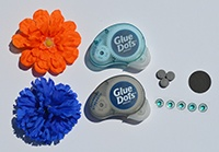 Creative Maker shows you what you need and how to make these easy flower decorations for your locker.
