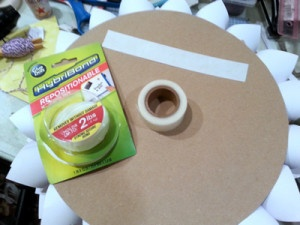 Spring Wreath Home Decor with HybrBond Mounting Tape