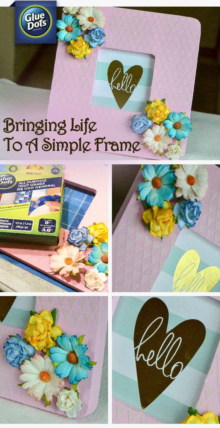 How to add texture to a picture frame adding texture and dimension to picture frames is easy with help from designer grace in jeuxipadfo Choice Image
