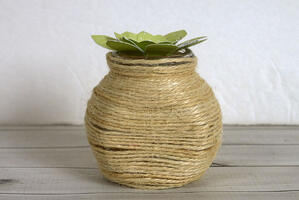 Upcycled Succulent Container-004