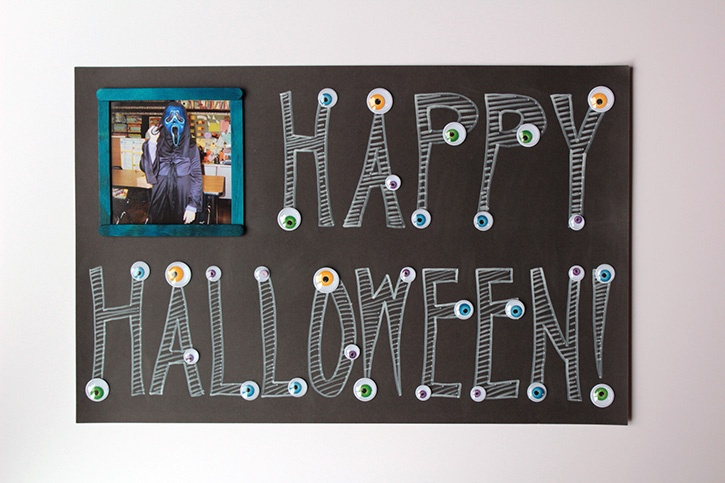 What Can You Make For Halloween With Glue Dots And