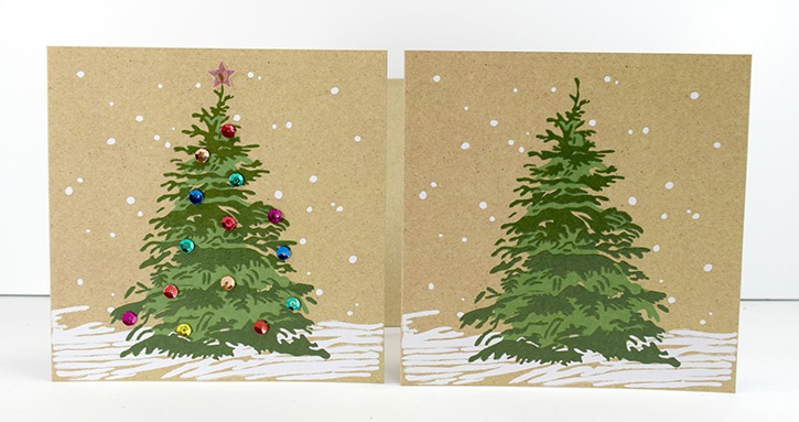 Inspiration And Project Ideas From Glue Dots Christmas Cards