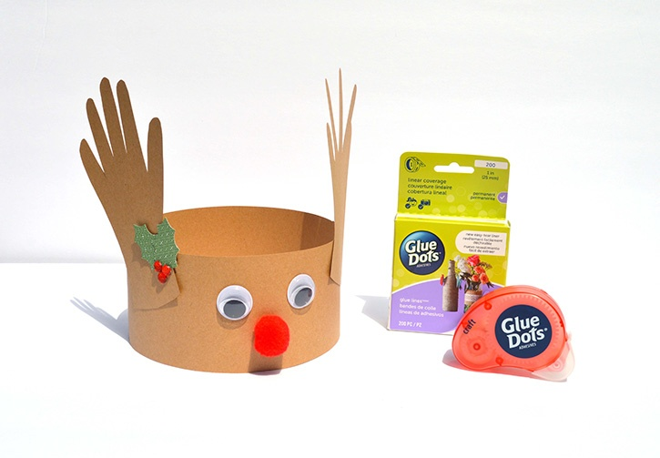 9fe2204bb60bf Christmas Crafts Reindeer Hat Create a bit of imagination and excitement  for the holidays when you make a Reindeer Hat with your child or a  classroom of ...