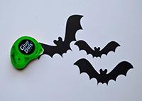 Spooky Scary Fun Bat Lamp Halloween Decoration